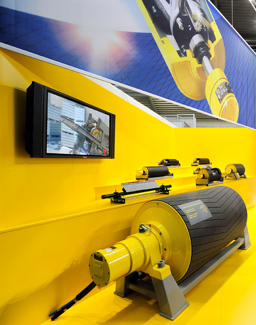 Rulmeca Danmak - Tromlemotor til bulk og unit handling